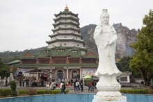 寺庙 菩萨